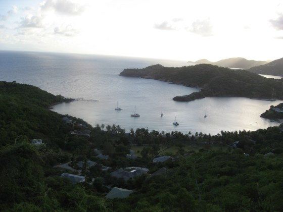 There are worse place to make candy than Antigua, I suppose