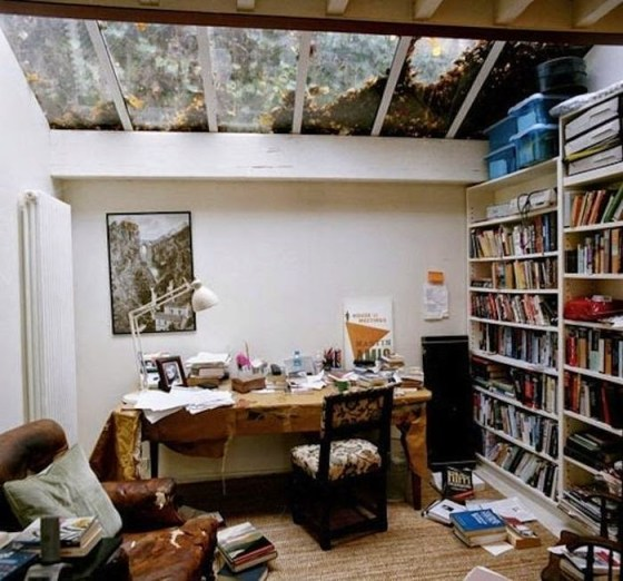 Martin Amis work space