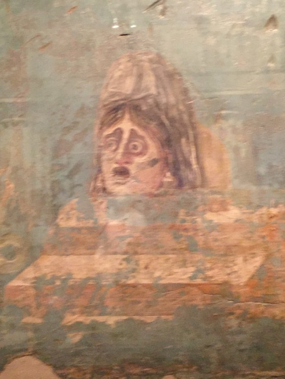 Fresco from the Pompeii exhibit at the California Science Center