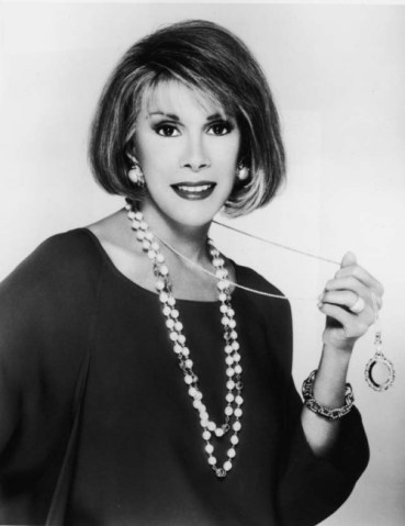 Joan Rivers in the 1980's
