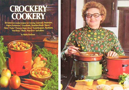 My 70s-steeped idea of who would be using a crockpot