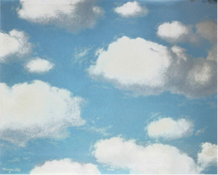 Magritte clouds