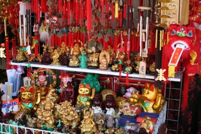 Chinatown: also full of useless trinkets
