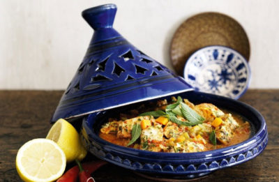 An actual tagine