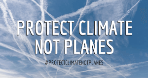 Protect climate not planes - Campax - Klima-Allianz