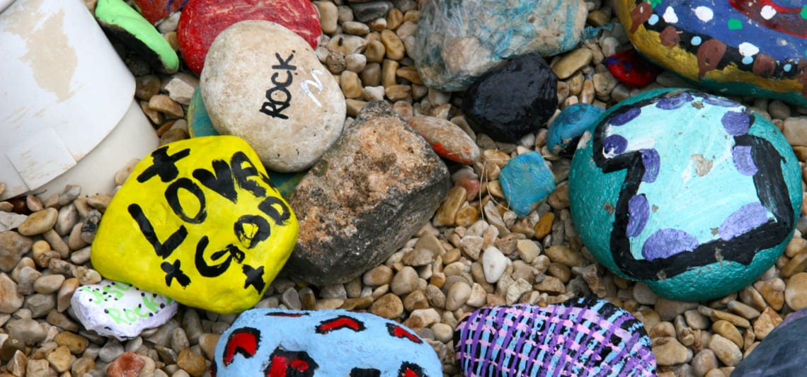 painted rocks image