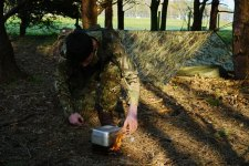 Feeding in the field