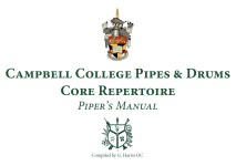 Piper's Manual – Core Repertoire