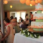Michigan Vineyard Wedding Cake