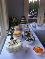 Wedding and Dessert Table at Brooklyn Society for Ethical Culture