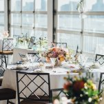 Chelsea Piers Tablescape at the Big Fake Wedding