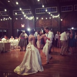 Hudson Valley Barn wedding Reception and Dancing