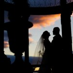 Pennsylvania Wedding photos during sunset