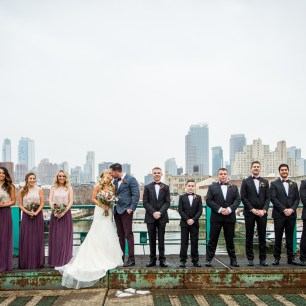 Wedding Party in Gowanus, Brooklyn
