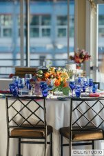 Chelsea Piers Reception Tablescape
