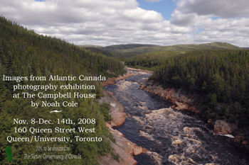 Invitation: Images from Atlantic Canada photography exhibition - Noah Cole