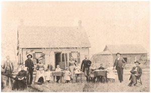 Damase Choquette Family (circa 1879)