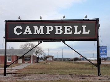 2019 Campbell Sign