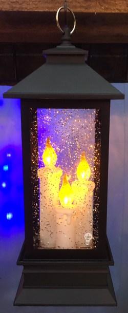 3 Candle LED Lantern