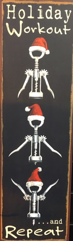 Holiday Workout Sign