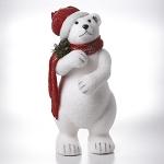 9x22 Upright Polar Bear