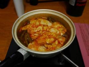 またまたキムチ鍋