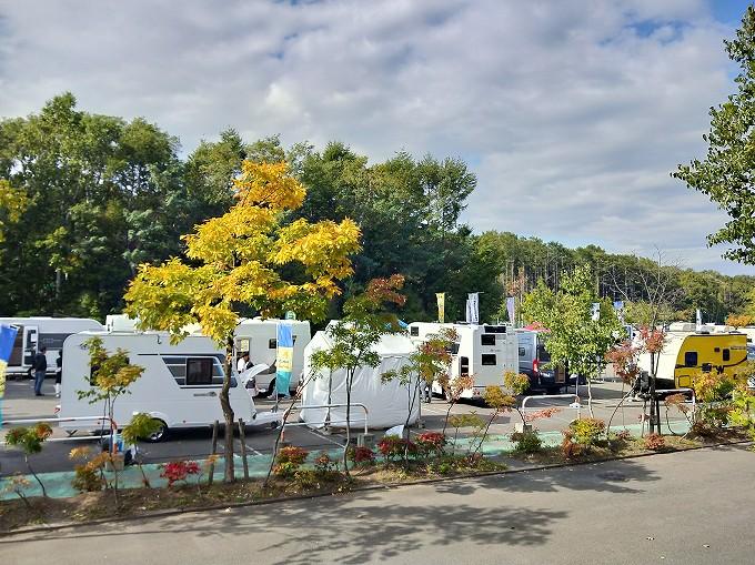 北海道 キャンピングカー ショー フェスティバル ブログ 車中泊