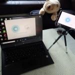 WEBカメラ代用としてスマホが使えるアプリ「iVCam」、車中泊時も想定してテザリングを検証【WEB会議 Zoom パソコン】
