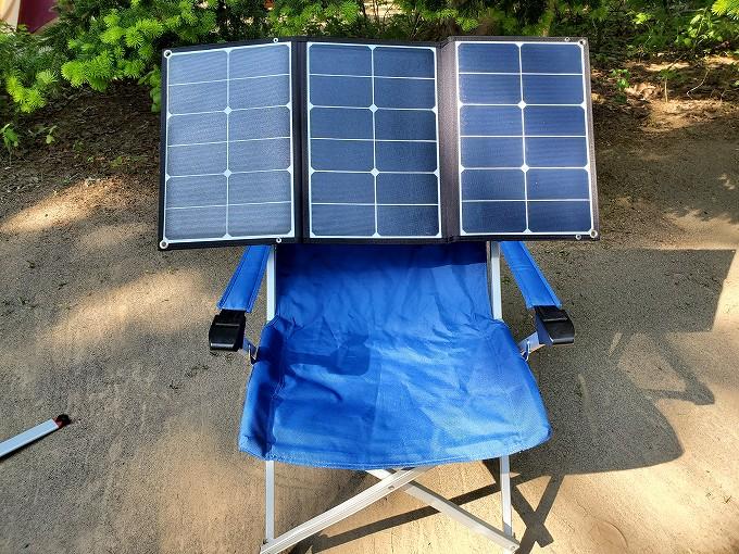 jackery solar panel 60w レビュー