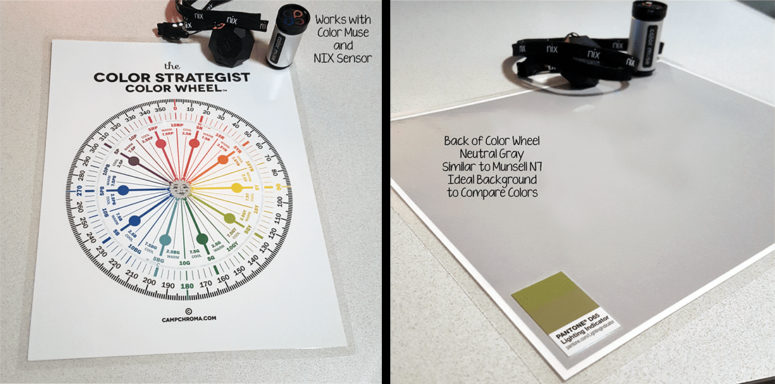 The Color Strategist Color Wheel With Hue Family And Lch Degrees