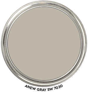 Anew Gray SW 7030 Paint Blob