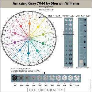 Amazing Gray 7044 by Sherwin Williams