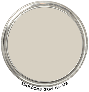 Edgecomb Gray HC 173 by Benjamin Moore