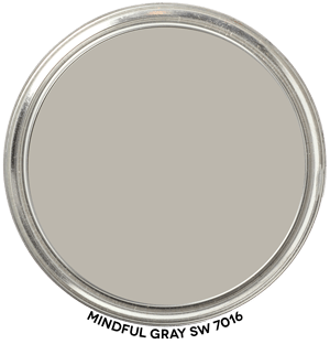 Mindful Gray 7016 by Sherwin-Williams