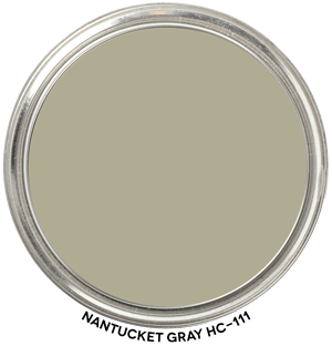 Nantucket Gray HC-111 by Benjamin Moore