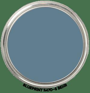 Blueprint S470-5 by Behr Paint Blob