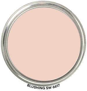 Blushing 6617 by Sherwin-Williams