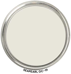 Seapearl OC-19 by Benjamin Moore Paint Blob