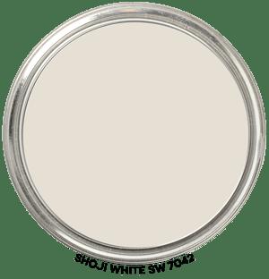 Shoji White 7042 by Sherwin-Williams Paint Blob