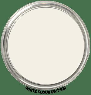 White Flour 7102 by Sherwin-Williams Paint Blob