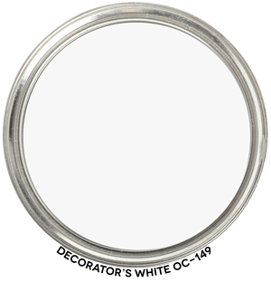 Decorator's White OC-149 by Benjamin Moore Paint Blob