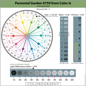 Perennial Garden 0759 from Color Is