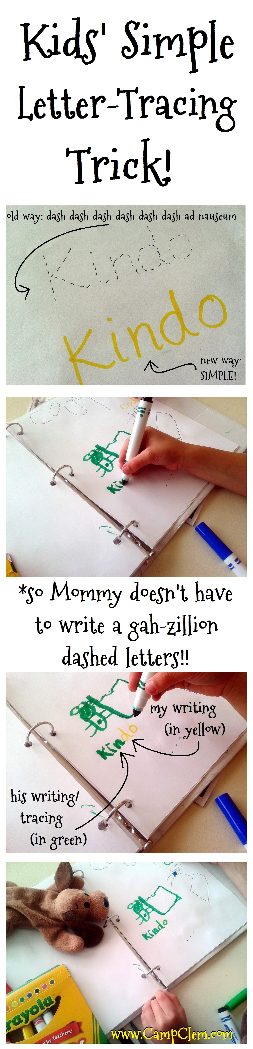 A Simple Trick For Kids Letter Tracing