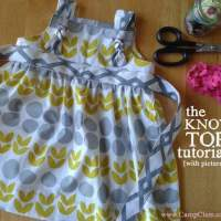 The Knot Top: A Simple Step-By-Step Tutorial