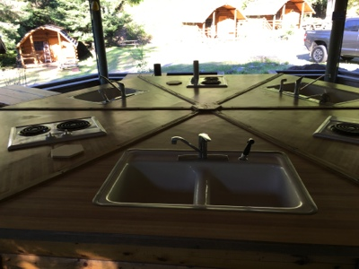 camper kitchen | camp coeur d'alene