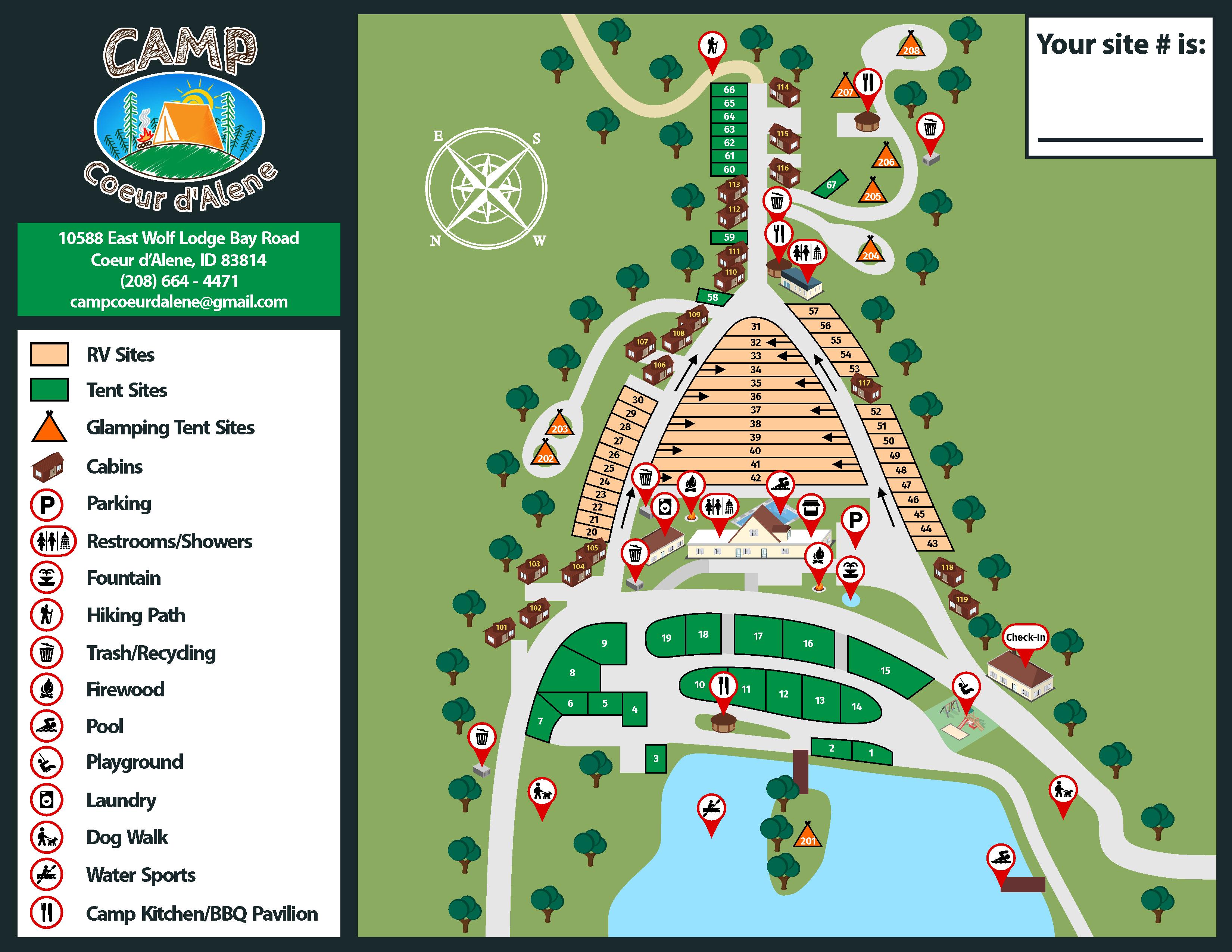 Camp Coeur d\'Alene – Destination Campground on Lake CdA