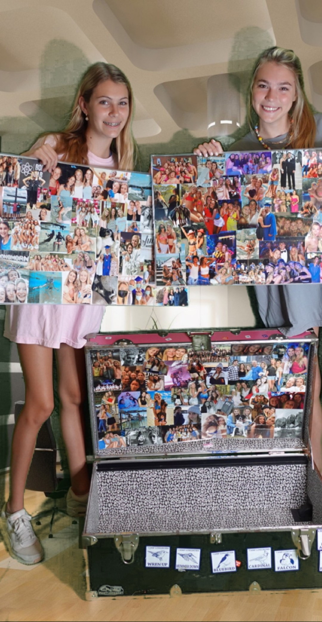 camp collage