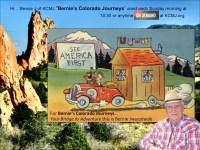 Links to many Colorado topics by Bernie's Colorado Journeys