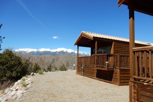 Chalk Creek Campground & RV Park also offers cabins