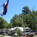 Pagosa Riverside Campground in Pagosa Springs Colorado